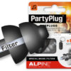 Alpine PartyPlug Black with earplug