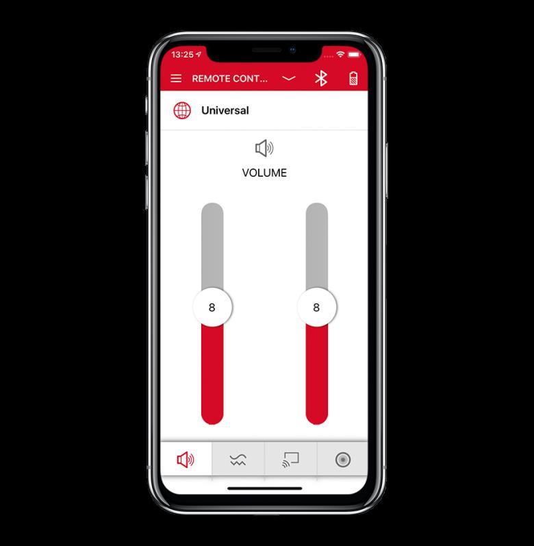 Lasol-Signia-app_remote-control_volume